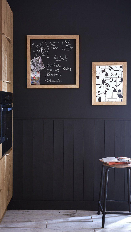 Cuisine Noir Maison Deco Deco Cuisine Noire Maison