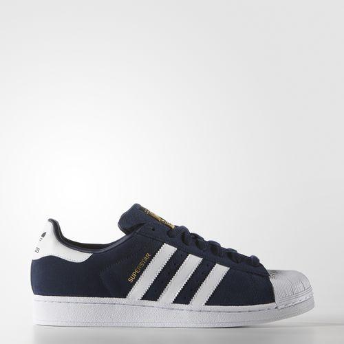 adidas superstar schoenen blauw