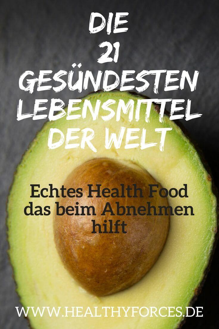 Gesunde Lebensmittel zum Abnehmen: Liste mit 21 Nahrungsmitteln