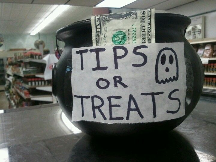 Pin By Chastity Hanley On Halloween Tip Jars Halloween Hacks Funny Tips