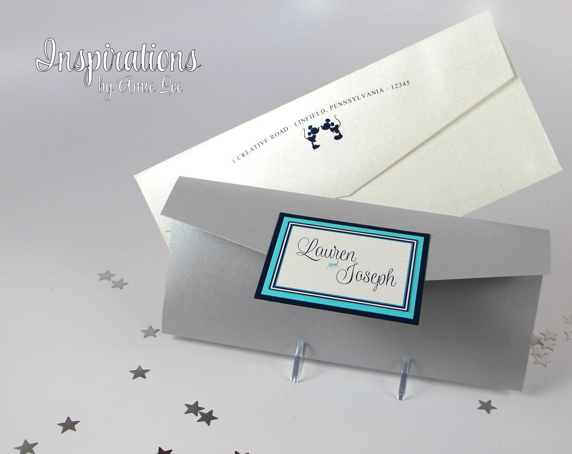 DISNEY Wedding Invitations from Inspirations by Amie Lee http://www ...