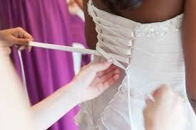 361af0c7c7 Wedding Gown Zipper Replacement Adjustable Fit Corset Back Kit LaceUp  CHAMPAGNE SATIN     Check out the image by visiting the link.