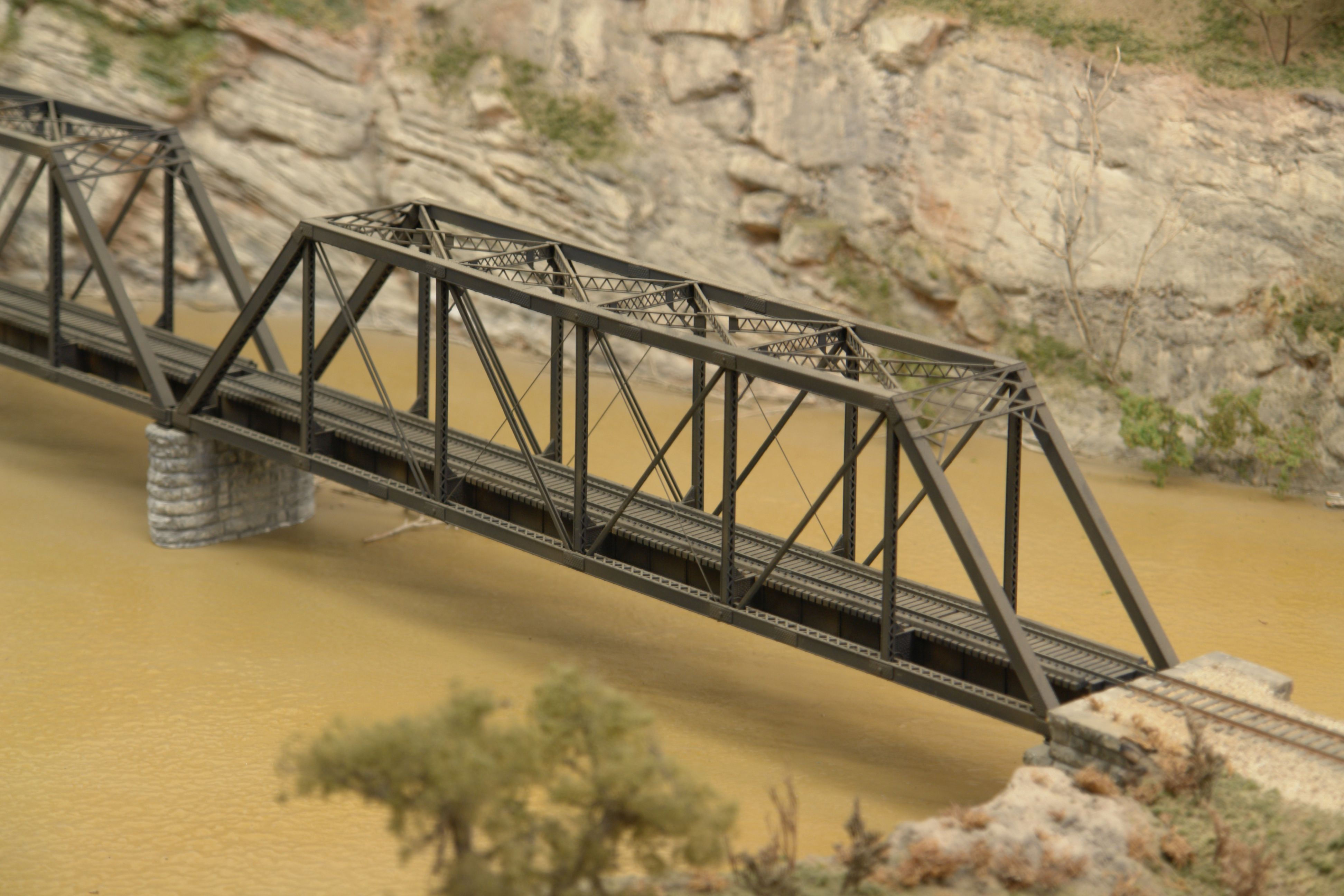 Ho Scale 1902 Bridge Kit Found On Cvmwcom Trains Pinterest Warren Truss Diagram The First Was Probably A