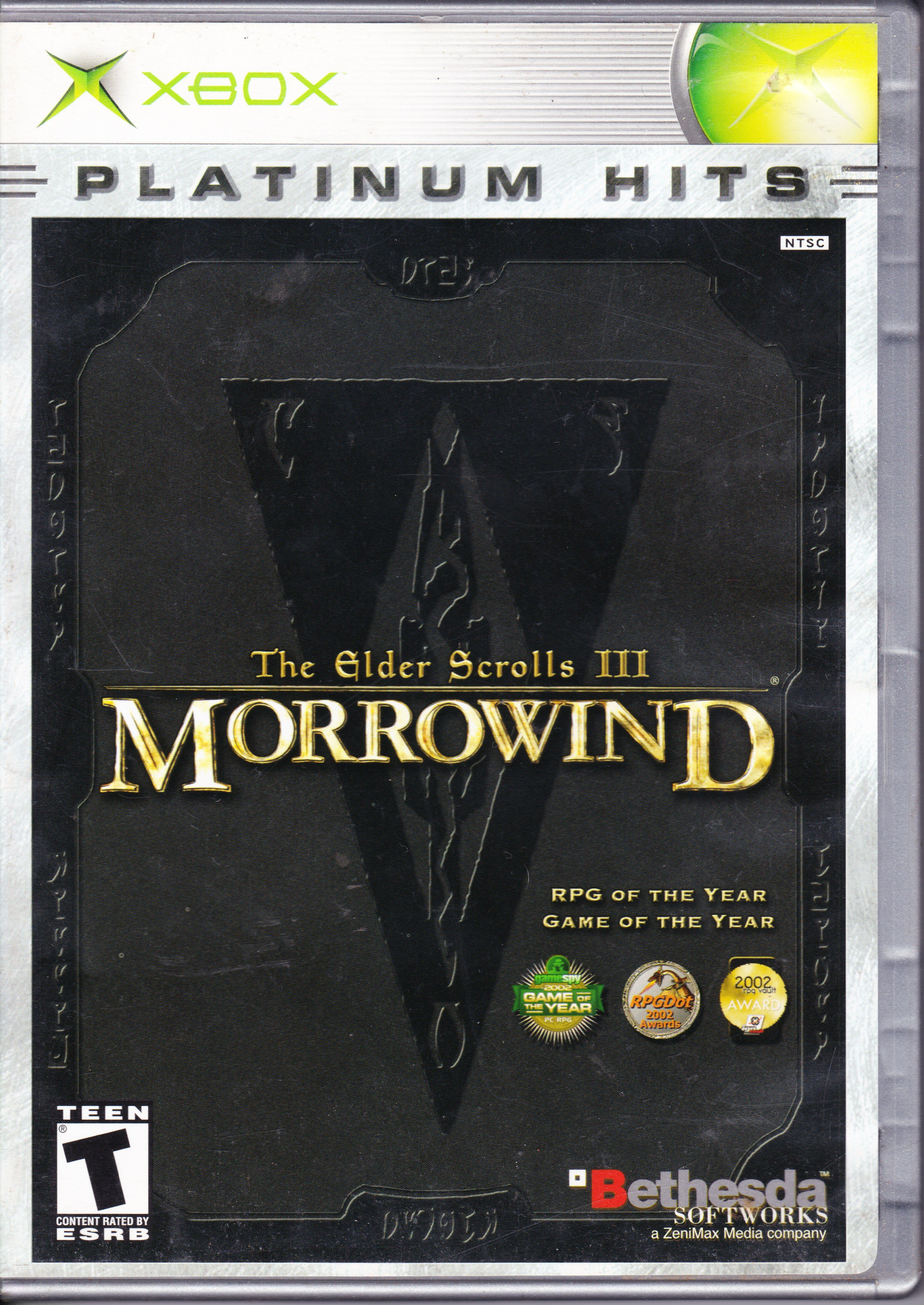 The Elder Scrolls III Morrowind (Xbox) Elder scrolls