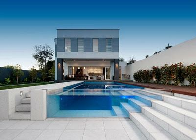 Swimming pool by OFTB Australia