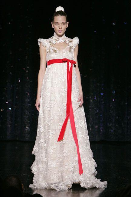 love the red contrast bow.   wedding   pinterest   la novia, blog y