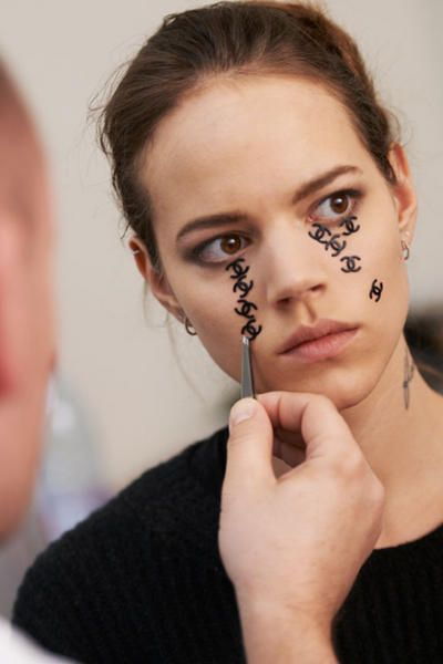 crying Chanel. chic.