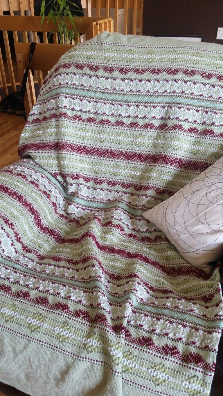 Le jeté adulte sur toile de moine Swedish Weaving Patterns, Monks Cloth,  Weaving Projects