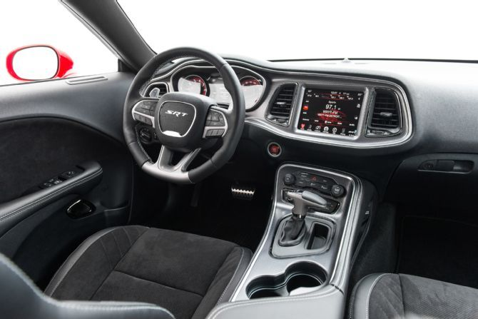 2015 Dodge Challenger Srt Hellcat Interior All Muscle Beyond 73