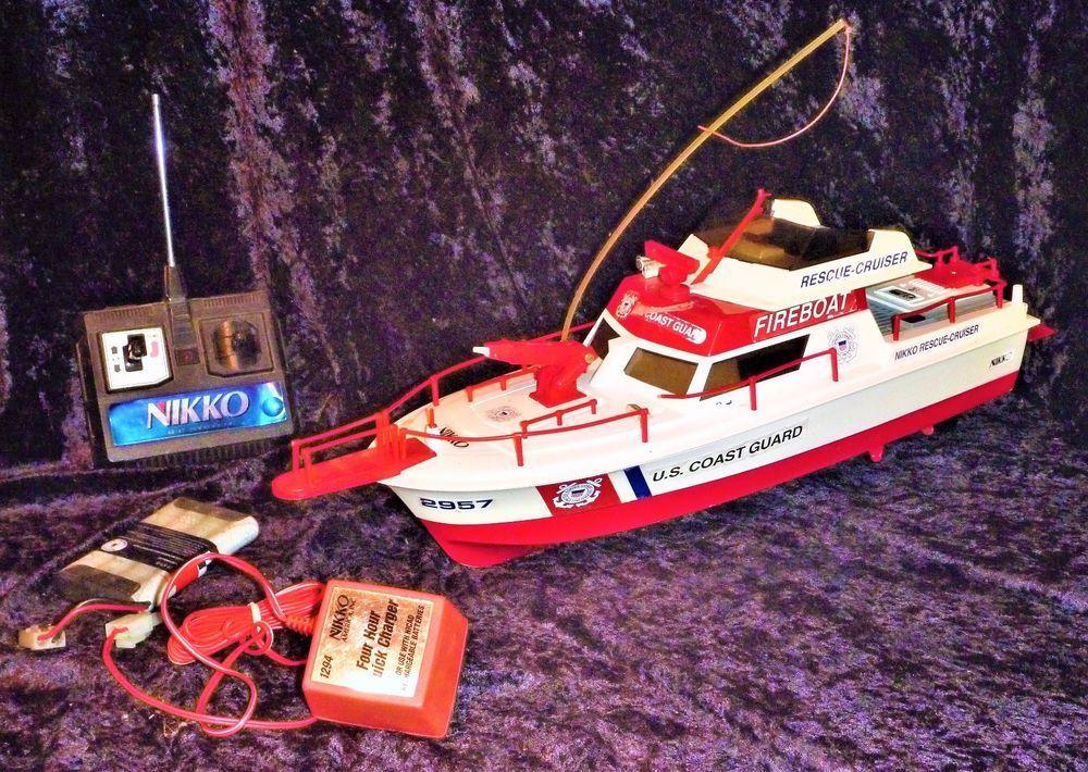 Nikko Radio Control US Coast Gaurd, RescueCruiser Boat