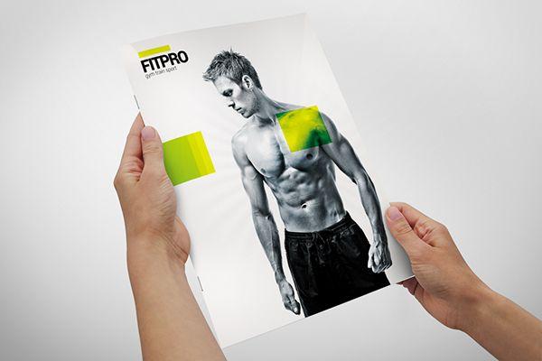 Fitness Gym Brochure on Behance Academia Pinterest Brochures - gym brochure
