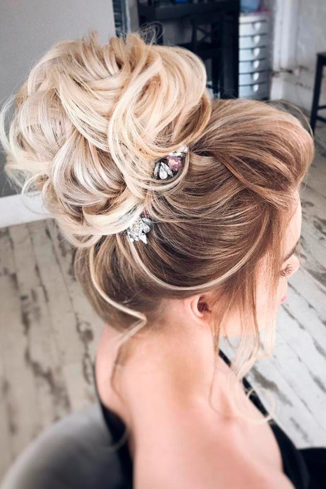 15 Elegant Prom Hairstyles Down   Elegant wedding hair ...