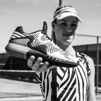d3cf1b201a574 Angelique Kerber showing her new  adidas Y-3 clothes for Roland Garros 2016
