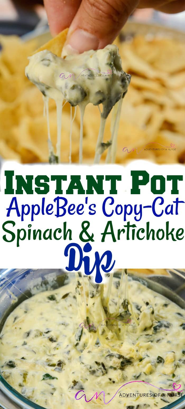 Photo of Instant Pot Artichoke and Spinach Dip Applebees CopyCat