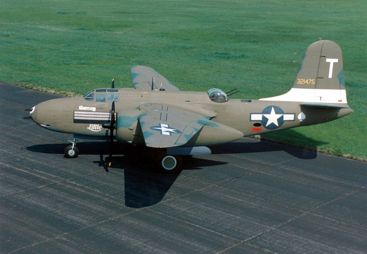 Douglas aircraft | 20G Havoc displayed at the National Museum of the U.S. Air Force.