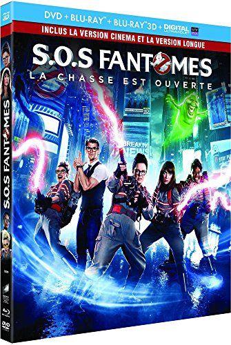 Sos Fantomes Combo Blu Ray 3d Blu Ray 2d Version Longue Dvd Copie Digitale Ultraviolet Boite En P Sos Fantomes Films Streaming Gratuit Films Complets