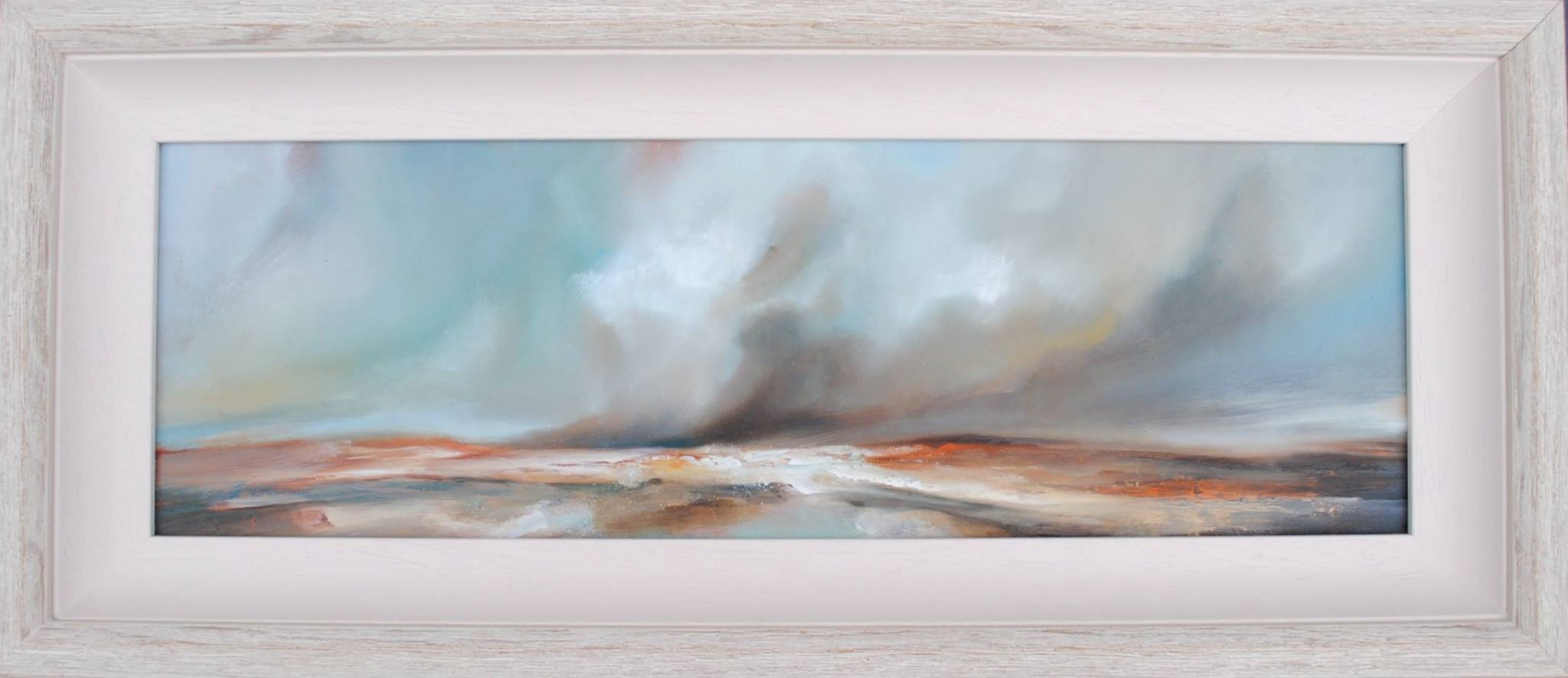 Original Oil by Steve Rostron 'Poised on a Gale'