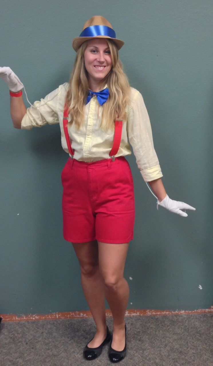 76ba90815dc DIY Pinocchio Costume from Goodwill