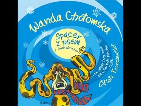 Wiersze Dla Dzieci Wanda Chotomska Spacer Z Psem Czyta