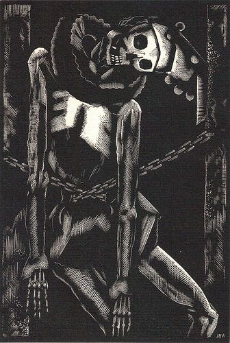 Poe Illustrated John Buckland Wright (The Cask of Amontillado