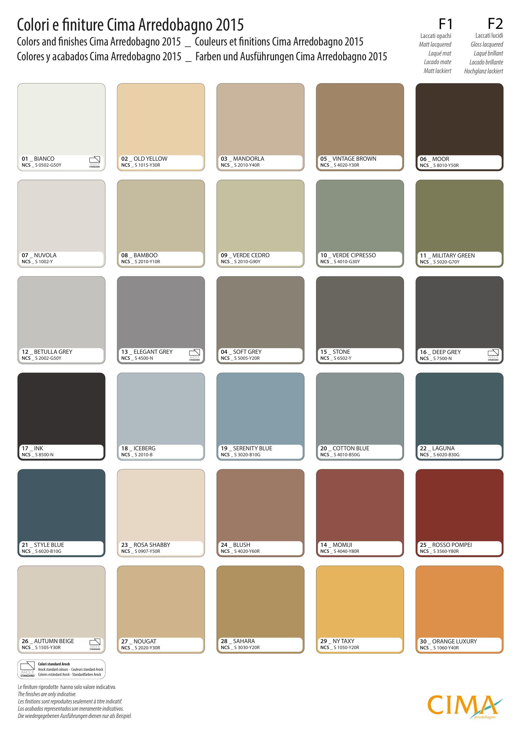Fargepallett s2010 y30r google s k colors pinterest - Cima arredobagno ...