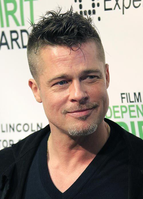 nice 40 Charming Brad Pitt Hairstyles - Many Stylish Ideas | Medium ...