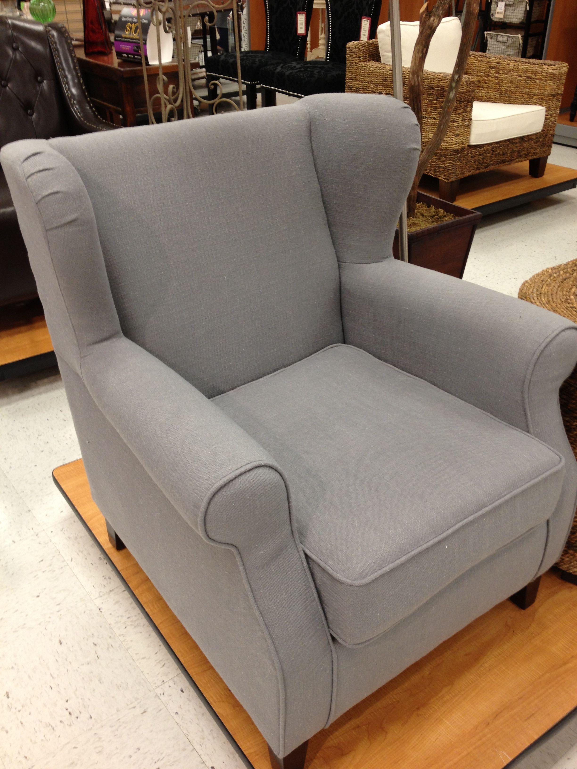 Gray Wingback Chair - TJ Maxx | Furniture | Pinterest ...