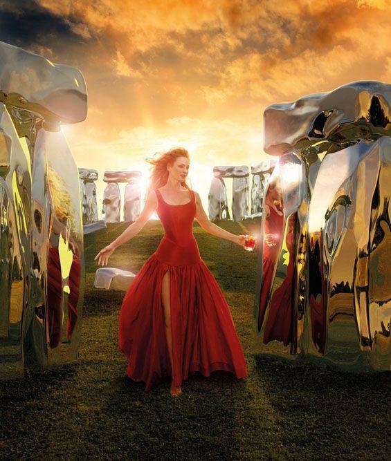 Uma Thurman Stars In Campari Calendar 2014 | Take a Quick Break