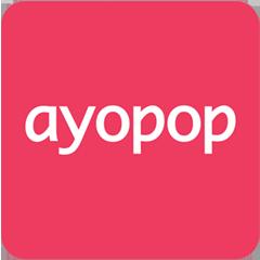 ayopop isi pulsa paket data token listrik bayar tagihan pln multifinance dan masih banyak lagi ayopop adalah aplikasi untuk me app gaming logos cover art pinterest