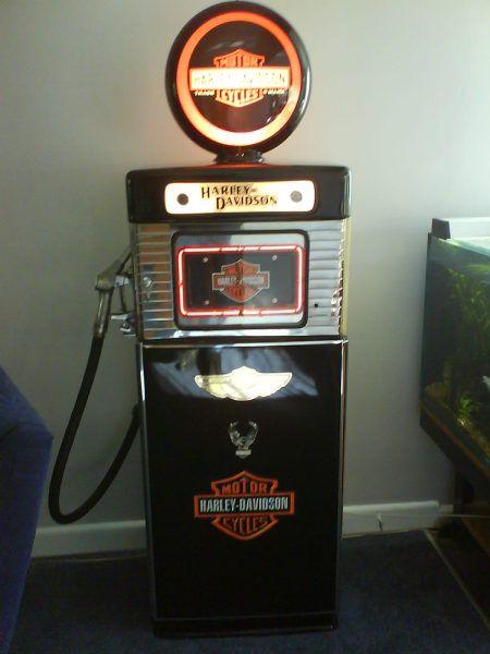 Hd Gas Pump Harley Davidson Signs Vintage Gas Pumps