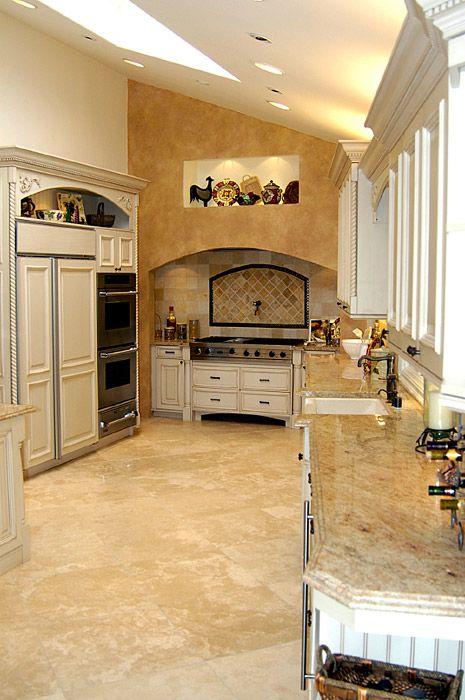 Choosing Natural Stone Tile \u2013 Granite, Marble, Travertine - küche fliesen boden