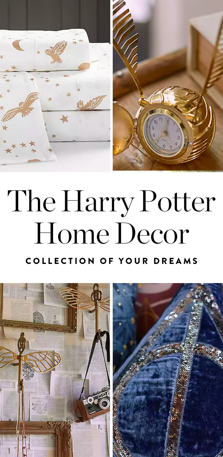 PBteen Released a Harry Potter Collection and We re About to  Accio     Take heed  witches and wizards  PBteen just unveiled a Harry Potter home  decor collection that s about the closest you can get