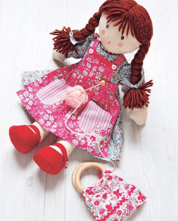 Floral Doll Dress & Bag Project Download free