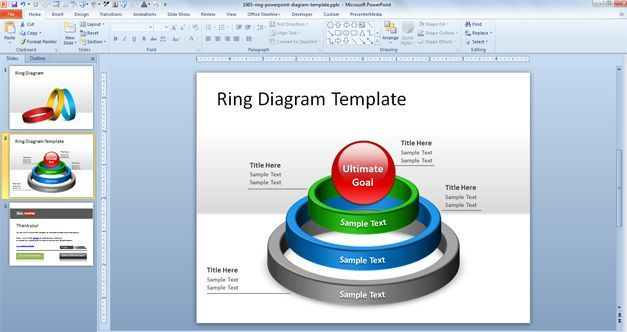 Free Ring Template For Point Microsoft Word Smartart
