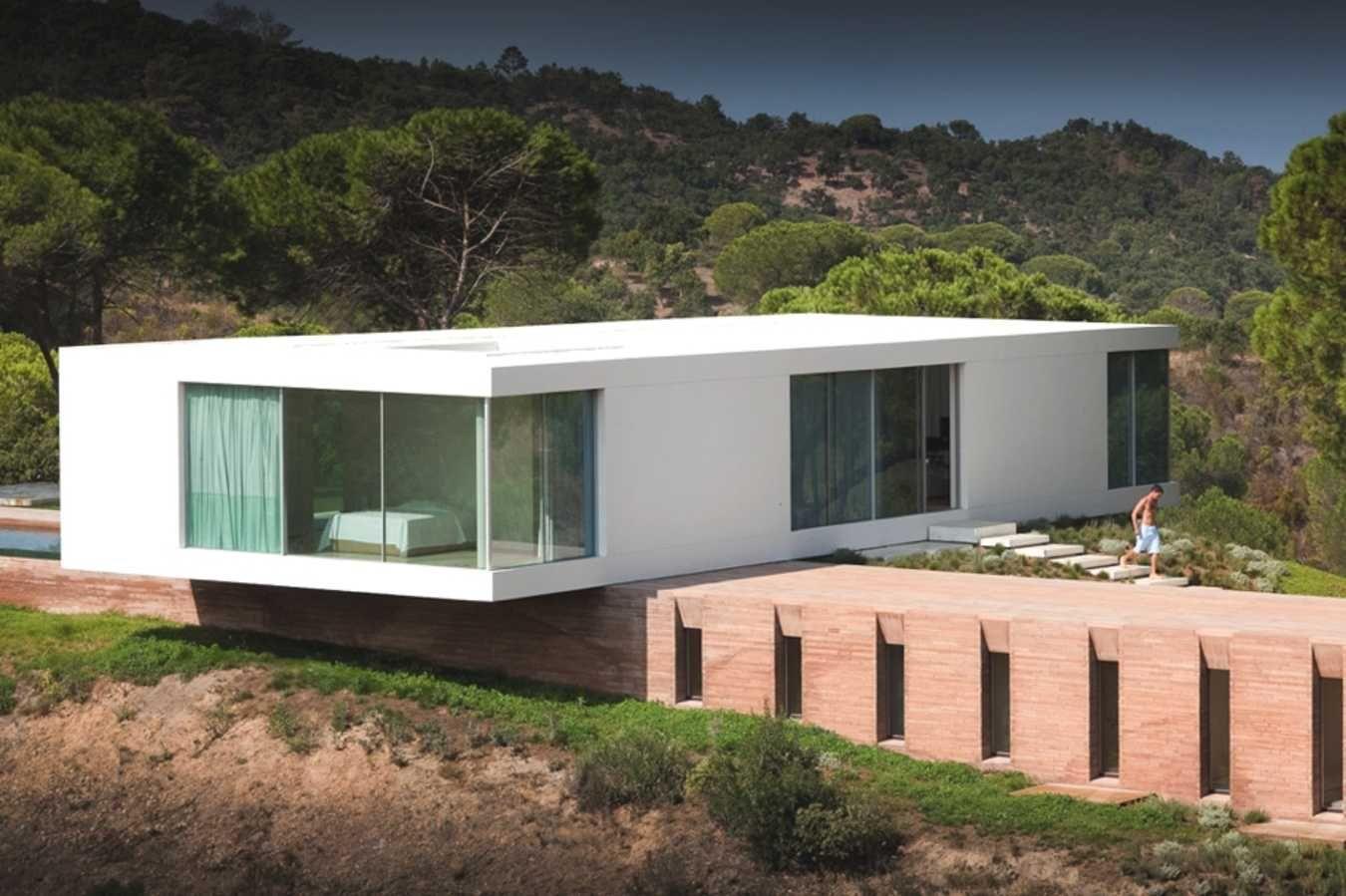 Minimal House in Melides, Portugal | Moderne häuser, Visualisierung ...