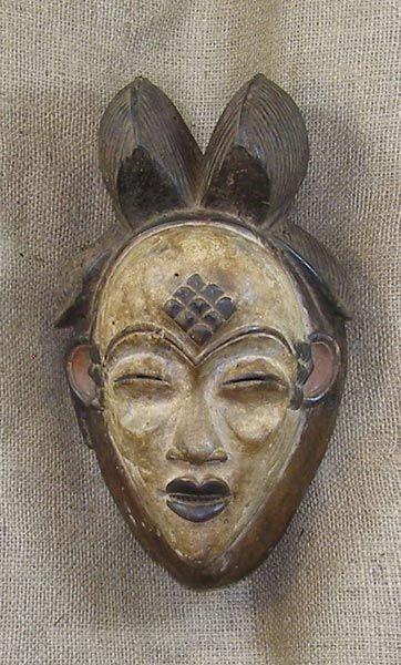 African Masks - Punu Mask