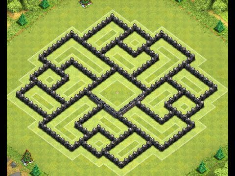 Unbeatable Coc Th9 Farming Base 2