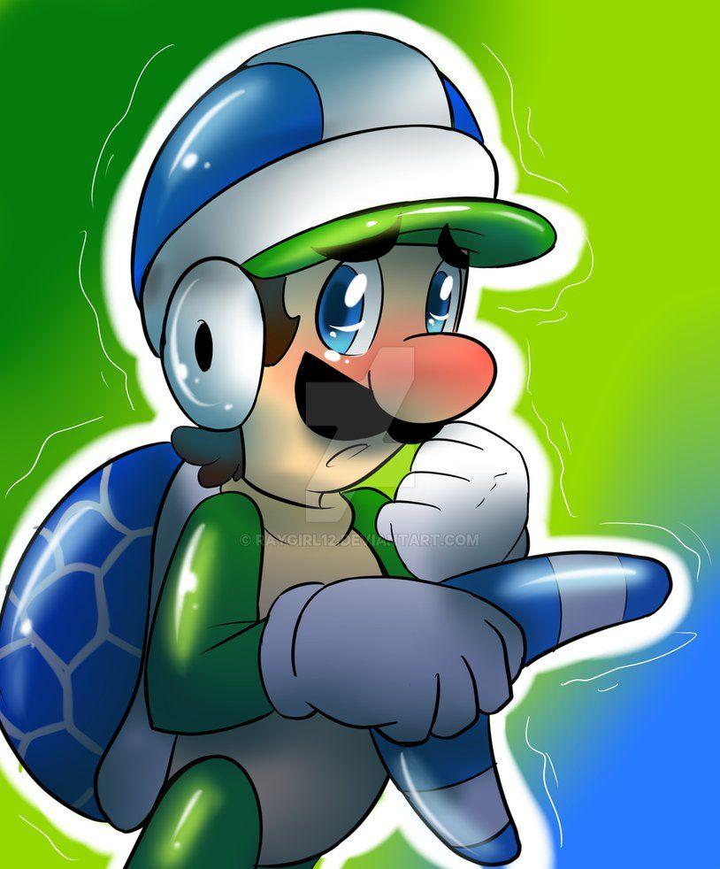 Boomerang Liuigi Super Mario Art Mario And Luigi Super Mario 3d