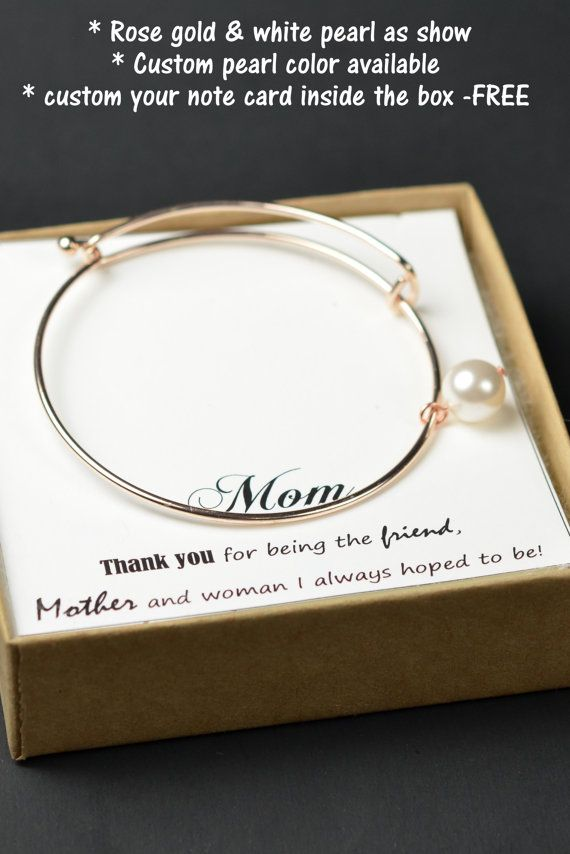 Gifts for her wife mothers bangle bracelet Christmas gifts from ...