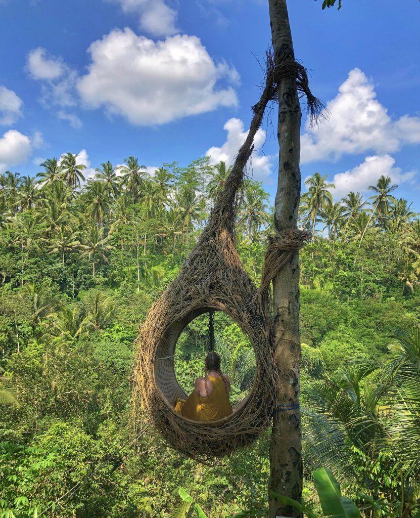 Visiting Bali Swing in Ubud, Bali, Indonesia Bali
