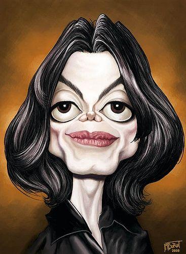Michael Jackson Caricature Artist Caricature Celebrity Drawings
