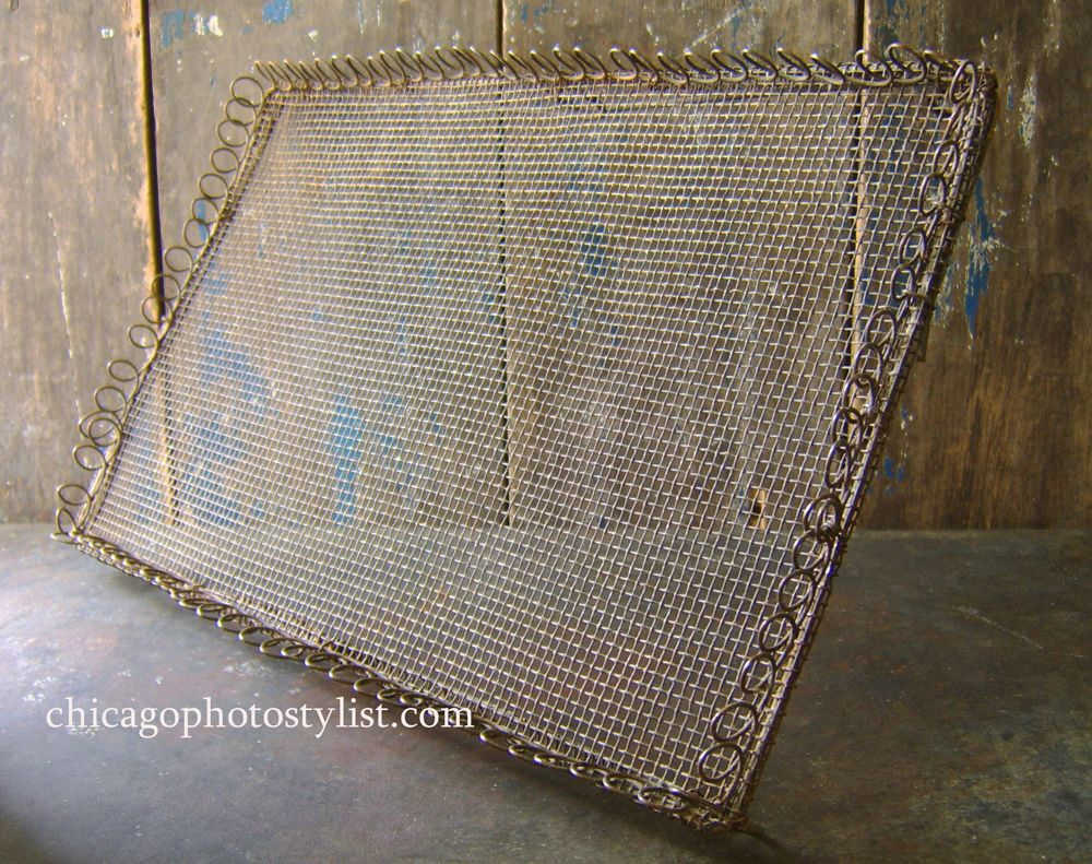 vintage wire cooling tray copy