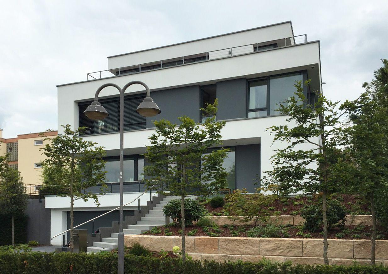modernes einfamilienhaus rhein main neubau pinterest moderne architektur einfamilienhaus. Black Bedroom Furniture Sets. Home Design Ideas