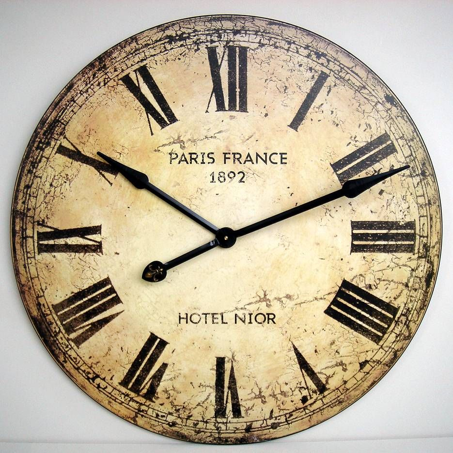 large wall clock creative home ideas pinterest wall clocks large wall clock