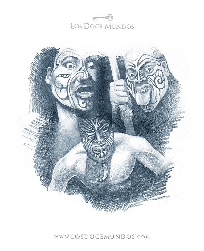 Los Doce Mundos - Nueva Zelanda - Haka maori