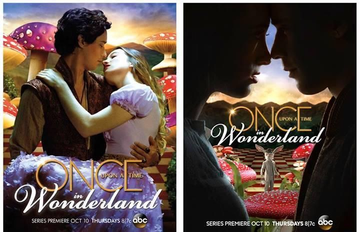 Once Upon a Time ABC | Once Upon A Time in Wonderland : Affiches promo | Brain Damaged - Le ...