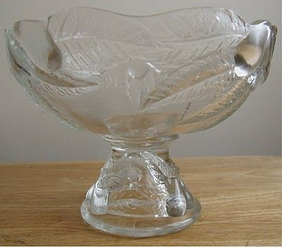Poetic Shutterbug Decorative Large Glass Compote Or Bowl