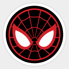 Miles Morales Logo Png Google Search Spiderman Stickers Miles Morales Spiderman Spiderman Birthday
