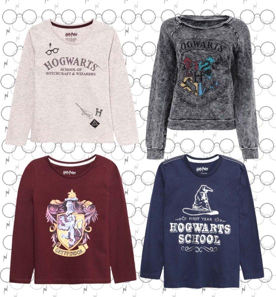 5316b83e5 Coleção de roupas Harry Potter na Renner