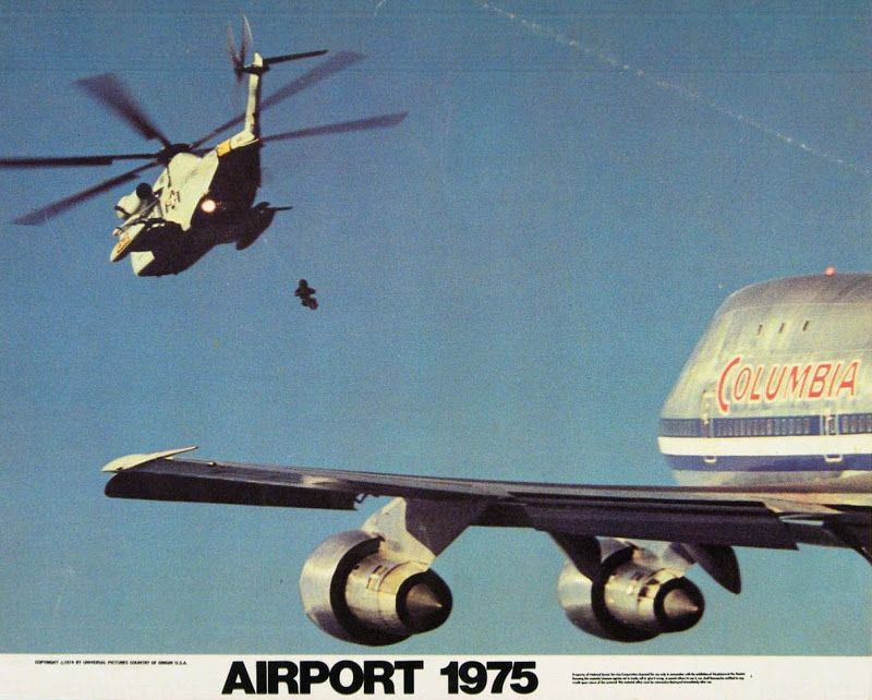 Classic Movies Airport 1975 1974 Classic Movies Best Action Movies Movie Lobby Cards